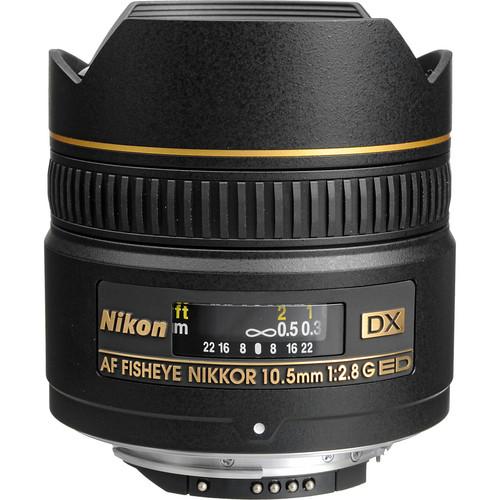 NIKON AF 10.5mm f/2.8G ED DX Fisheye