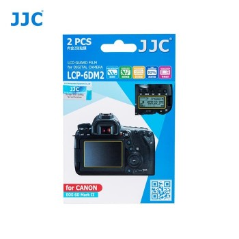 JJC LCP 6DII  LCD Guard Film for Canon 6DII