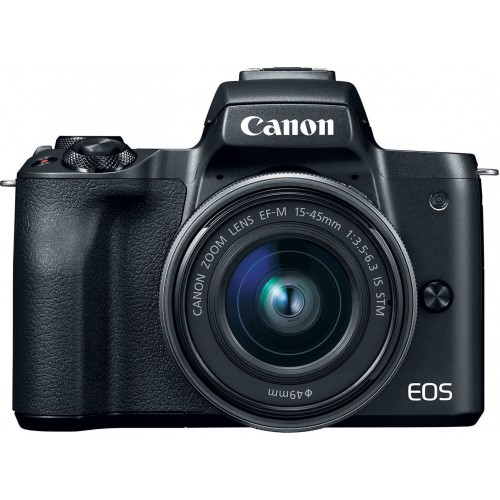 CANON EOS M50 BLACK +15-45MM F3.5-6.3 IS STM .ΜΕ 12 ΑΤΟΚΕΣ ΔΟΣΕΙΣ