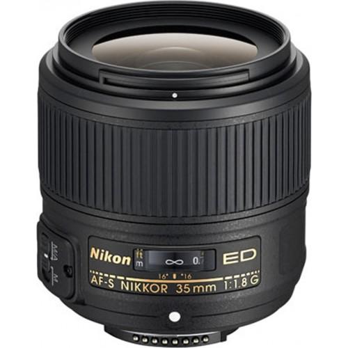 NIKON AF-S 35mm f/1.8 G ED.