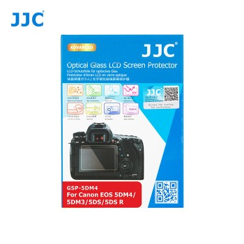 JJC GSP5D4-Optical Glass LCD Screen Protector for Canon 5D3,5D4,5DS,5DSR