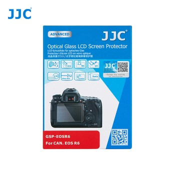 JJC GSP-R6 Optical Glass LCD Screen Protector for Canon R6