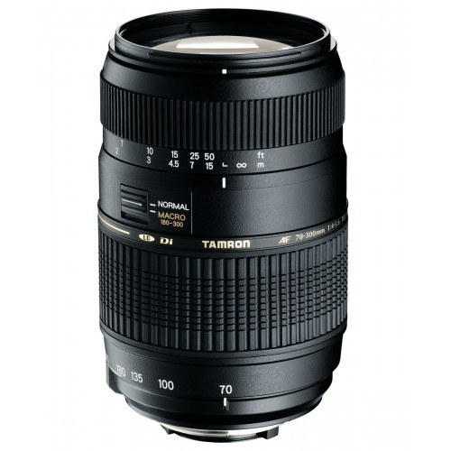 TAMRON AF 70-300F/4-5.6 MACRO FOR CANON