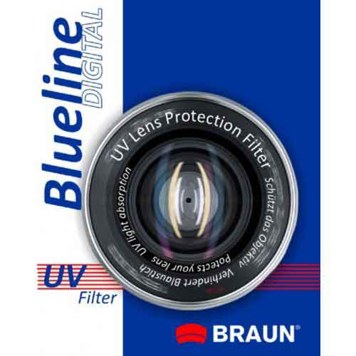 Braun BlueLine UV 72mm Φιλτρα UV