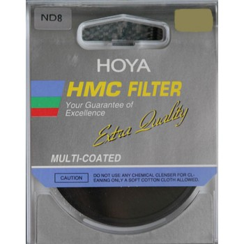 Hoya ND8 HMC 72mm for 3 stop