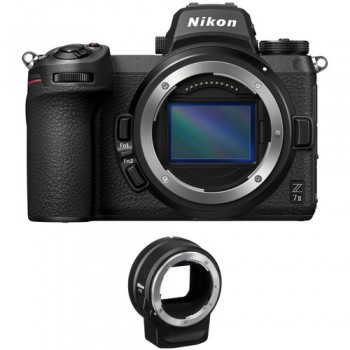 NIKON Z7 II BODY + FTZ ADAPTER MOUNT σε 12 Άτοκες Δόσεις