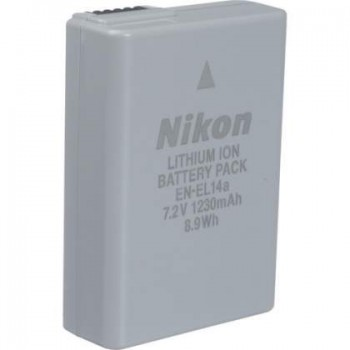 NIKON EN-EL14a BATTERY ORIGINAL