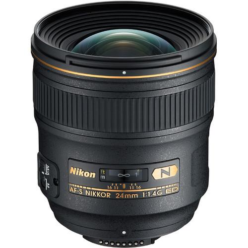 NIKON AF-S 24mm f/1.4 G ED NEW
