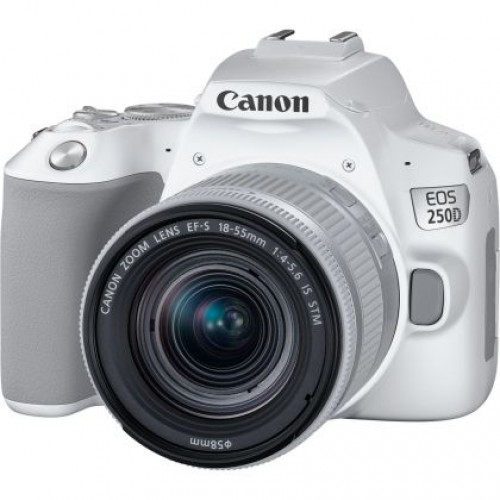 CANON EOS 250D WHITE +18-55MM 4-5.6 IS STM + CANON 24MM 2.8 STM .ΜΕ 12 ΑΤΟΚΕΣ ΔΟΣΕΙΣ