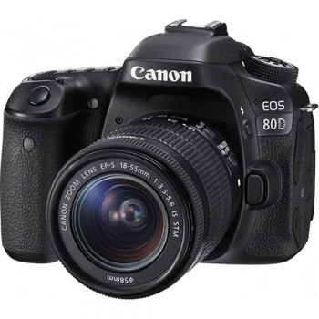 CANON EOS 80D +CANON 18-55 IS STM .ΜΕ 12 ΑΤΟΚΕΣ ΔΟΣΕΙΣ (Cashback για Φοιτητές -100€ )
