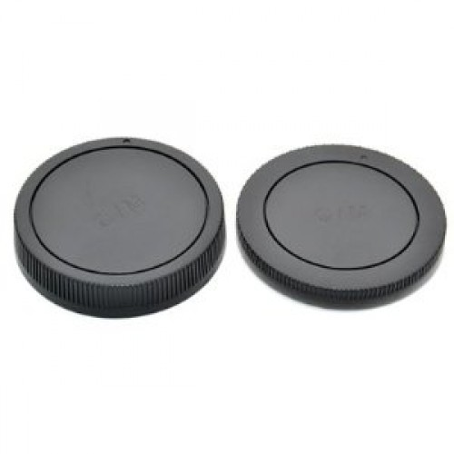 JJC L-R1 Rear Lens Cap and Body Cap for Canon Mount Cameras ΚΑΠΑΚΙΑ ΦΑΚΩΝ