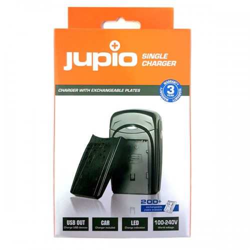 JUPIO SINGLE CHARGER ΓΙΑ ΜΠΑΤΑΡΙΑ CANON BP-718