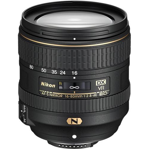 NIKON AF-S 16-80mm f/2.8-4E ED VR DX