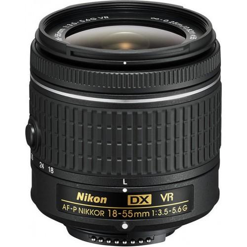 NIKON  AF-P 18-55mm f/ 3.5-5.6/ DX VR  Φακοι Nikon