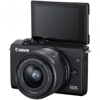 CANON EOS M200 BLACK + CANON EF-M 15-45 F3.5-6.3 IS STM .ΜΕ 12 ΑΤΟΚΕΣ ΔΟΣΕΙΣ