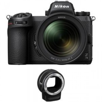 NIKON Z7 II BODY +NIKON 24-70F4 S +FTZ ADAPTER έως 12 Άτοκες Δόσεις