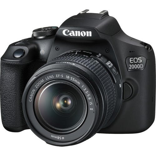 CANON EOS 2000D KIT ME ΕF-S 18-55mm IS II