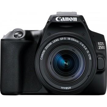 CANON EOS 250D +EF-S 18-55MM F4-5.6 IS STM.Με 24 άτοκες δόσεις.Με cashback -50€