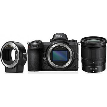 NIKON Z50 CAMERA +Z 16-50MM F3.5-6.3 VR + ADAPTER FTZ έως 12 Άτοκες Δόσεις