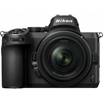 NIKON Z5 CAMERA +Z 24-50MM F4-6.3 +SD 32GIGA+ΤΣΑΝΤΑ (Με Cashback 150€)