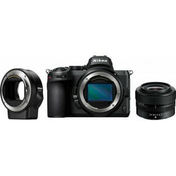 NIKON Z5+Z 24-50MM F4-6.3 +FTZ ADAPTER KIT ( Με Έκπτωση 100€ )