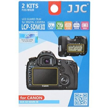 JJC LCP-5DIII  LCD Guard Film for Canon 5D MARK III, EOS 5Ds, 5DsR, 5D MARK IV