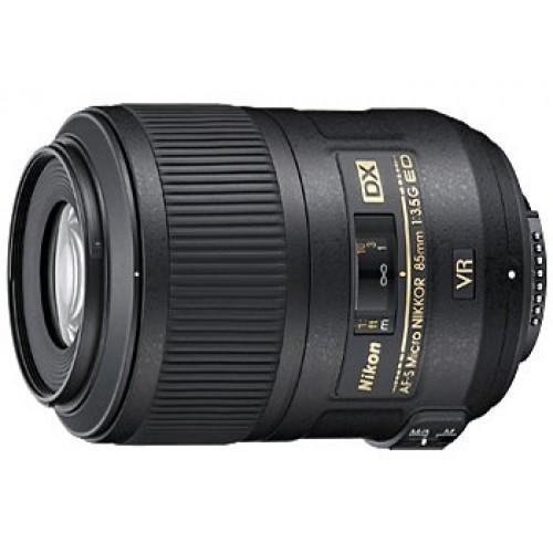 NIKON AF-S 85mm f/3.5G MICRO ED VR DX
