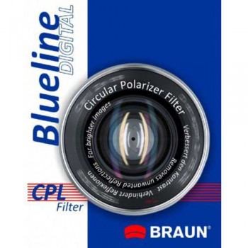 Braun Blueline CPL Filter 62 mm Φιλτρα Cir-Pol