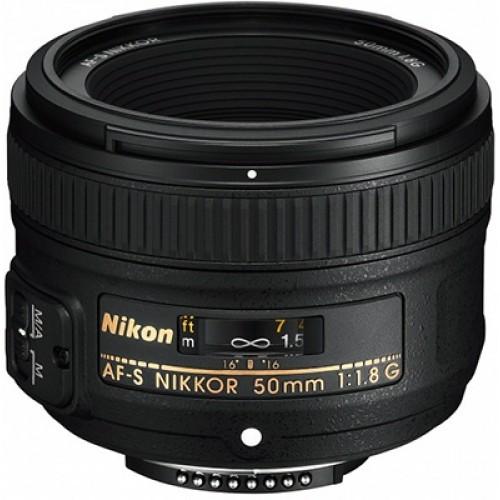 NIKON AF-S  50mm f/1.8 G.