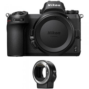 NIKON Z6 BODY +NIKON FTZ ADAPTER (Με Cashback -200€)