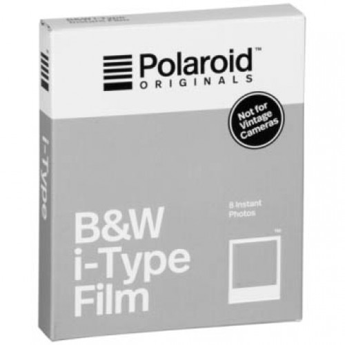 POLAROID I-TYPE BW FILM