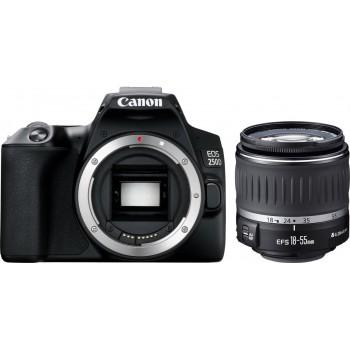 CANON  EOS 250D+ EF-S 18-55MM F3.5-5.6 DC III .Με 24 άτοκες δόσεις.Με cashback -50€