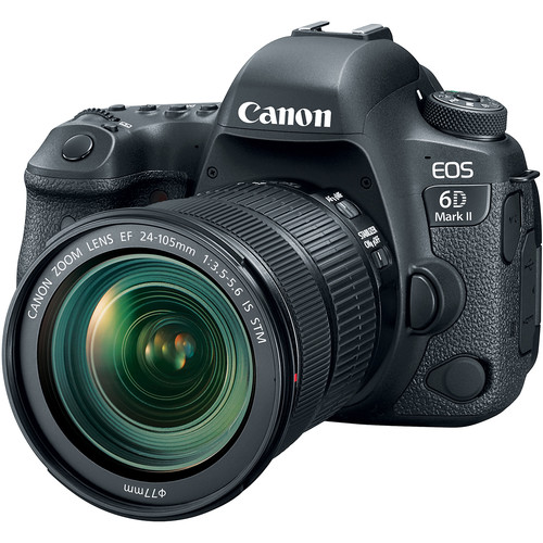 CANON EOS 6D MKII + EF 24-105MM F3.5-5.6 IS STM