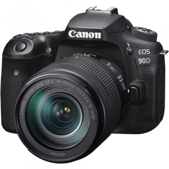 CANON EOS 90D KIT +CANON EF-S 18-135 MM IS NANO F3.5-5.6