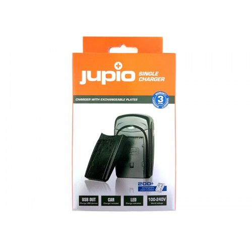 JUPIO SINGLE CHARGER ΓΙΑ ΜΠΑΤΑΡΙΑ CANON BP-808/809/819/827