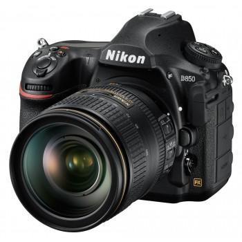 NIKON D850  ΒLACK + NIKON 24-120MM 4G ED VR