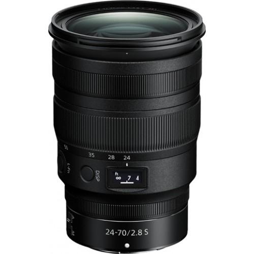 NIKON  Z 24-70mm f/2.8 S ED NANO έως 12 Άτοκες Δόσεις.