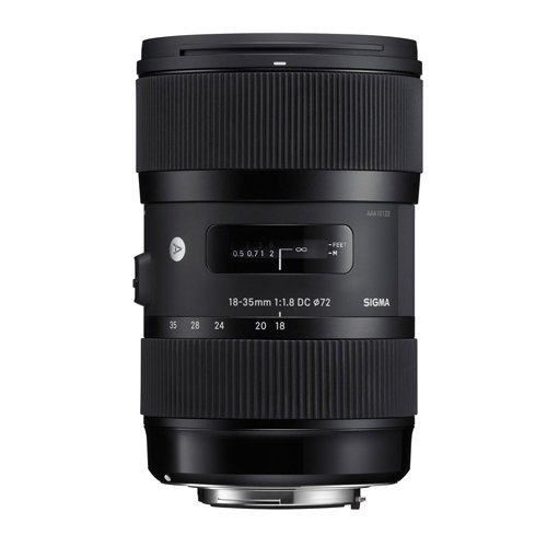 SIGMA 18-35MM F1.8 DC HSM AF FOR CANON Φακοι Sigma