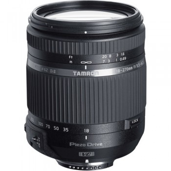 TAMRON TS 18-270MM F/3.5-6.3 Di II VC PZD FOR CANON + ΔΩΡO ΤΣΑΝΤΑ ΤΑΜRΟΝ + ΦΙΛΤΡΟ UV